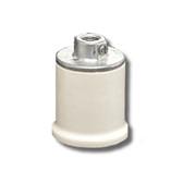Leviton 10065 - 1-Piece Pipe Mount Porcelain Keyless Lampholder
