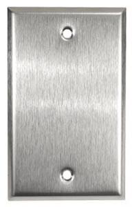 Leviton 84014 - 1-Gang No Device Blank Wallplate