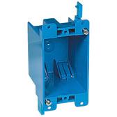 Carlon B114R-UPC - Old Work Nonmetallic Box, Single Gang W/ 2 Clamp