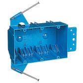 Carlon B344AB - 3 Gang Nonmetallic Box, 44 CU Inch Zip Box w/Nails