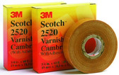 3M 252011/2x36yd - Electrical Insulating Varnished Cambric Tape