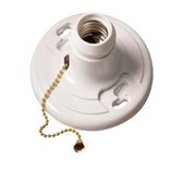 Epco 16512 - Phenolic Lamp Holder with Pull Chain
