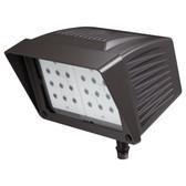 Atlas PFM43LED - Flood LED 43W 120-277V Fixture with Knuckle