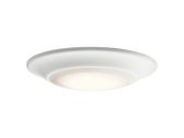 Kichler 43848WHLED30TB 15W 3000K White Dimmable Ceiling Downlight