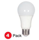 Satco S28789- LED A19 E26 15.5W 2.7K 4/PK  Bulbs