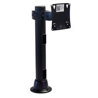 Preconfigured Monitor Mount Double Pivot Grommet 16 inch Pole
