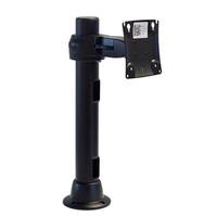 Preconfigured Monitor Mount Grommet Double Pivot 16 inch Pole