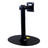 Preconfigured Freestanding Monitor Mount 16 inch Pole