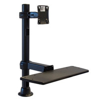 Monitor Mount With Keyboard Tray 24 inches