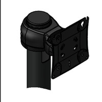 Monitor Pivot Single Genesis Pivot (up/down) for 1 Device VESA Rotating Pole Clamp included