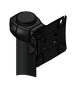 Monitor Pivot Single Genesis Pivot up down for 1 Device VESA Fixed Pole Clamp Included