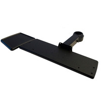 Keyboard Tray with Mouse Tray Fixed Length Arm Rotating Clamp