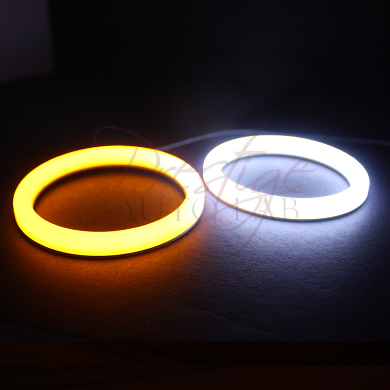 4x 106mm Cotton Led Angel Eye Halo Switchback Light Ring
