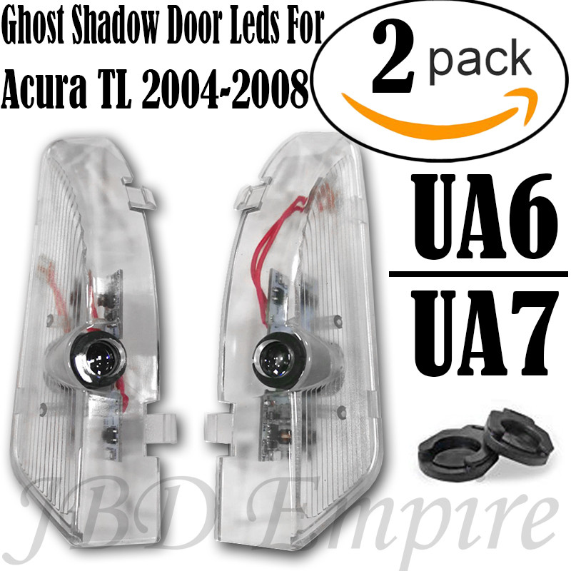For Acura TL 2004-2008 LED Laser Door Logo Ghost Shadow