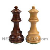 "Extra Queens Only (for Sheesham Chess Pieces - 3.5"" King - BOARD NOT INCLUDED - Made in India)"