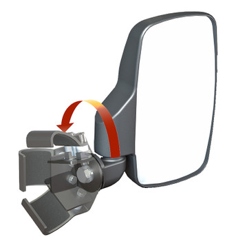 Breakaway Side View Mirrors For Polaris Ranger Xp900 And
