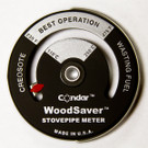 WoodSaver StovepipeThermometer Magnetically Attached Meter by Condar