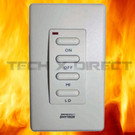 1322WT Wireless Wall Control for Gas Fire Pit Systems