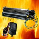 Universal Fireplace Fan Kit Blower Fits FK-24 Electronic Speed Control