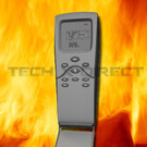 Skytech 3301PF Fireplace Remote with Thermostat and Fan Control