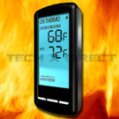 Skytech 5301 Fireplace Remote Touch Screen Thermostat Timer