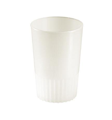 Bulk Plastic Shot Glasses | White Colour