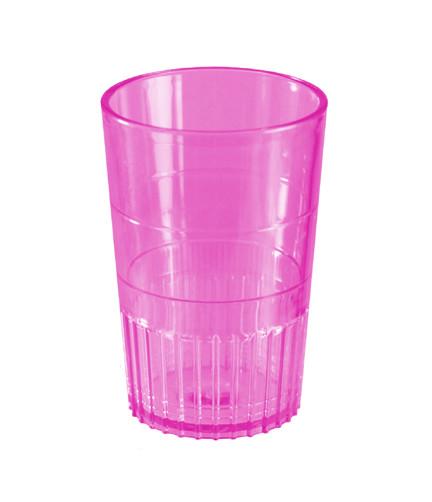 Bulk Plastic Shot Glass | Magenta Colour