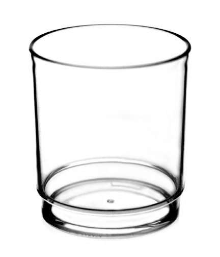 The Old Fashioned Tumbler looks and feels like glass in a design that is shatter resistant, portable, stackable and reusable. Perfect for outdoor and poolside use.