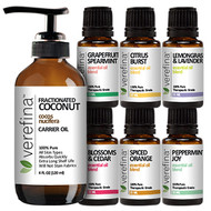 Blended to the End Essential Oil Set (Free Carrier Oil Included)