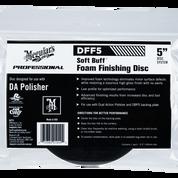 "DFF5   Soft Buff DA Foam Finishing Disc - 5"""
