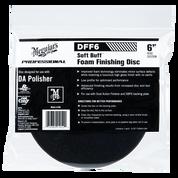 "DFF6   Soft Buff DA Foam Finishing Disc - 6"""