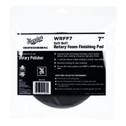 "WRFF7   Soft Buff Rotary Foam Finishing Pad - 7"""