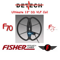"""Detech 13"""" Ultimate Coil for Fisher F70/F75"""