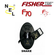 NEL 6.5×3.5 inch DD Snake Coils for Fisher F70/F75