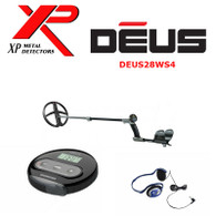 """XP DEUS With WS4 Display + 11"""" X35 Search Coil + FX-02 Wired Backphone Heaphones"""
