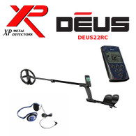 "XP DEUS With FX-02 Wired Backphone Heaphones + Remote + 9"" Coil"