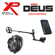 "XP DEUS With WS5 Full Sized Headphones + Remote + 9"" Coil"