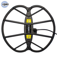 """CORS Giant 15""""x17"""" DD Search Coil for Fisher F70 & F75 Metal Detector with Cover"""