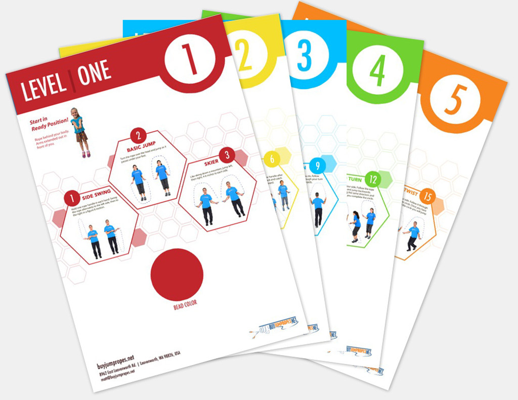 Jump Rope Instructional Posters | BuyJumpRopes.net