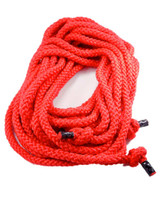 red cloth double dutch jump rope