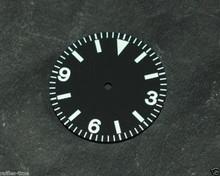 Plain Vintage Explorer Watch Dial for DG 2813 Movement 29mm