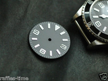 Plain Explorer Watch Dial for DG 2813 Movement White Lume