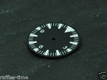 Plain Seamaster 300 Dial for DG 2813 Movement Triangle@12 White Superluminova