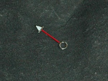 GMT Watch Hand for DG 3804 movement - Red - 2.0mm hole