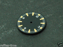 Sterile Seamaster 300 29mm Dial for ETA 2836 Movement Orange Superluminova