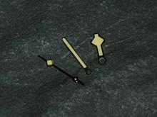 Snowflake Milsub Snow Flake Watch Hands for ETA 2836 2824 Yellow