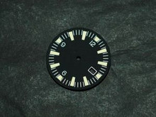 Sterile Seamaster 300 Dial for DG 2813 Movement w/ date