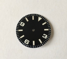 Plain Explorer Watch Dial Dial for Seiko 7S26 NH35 Movement 2 Positions