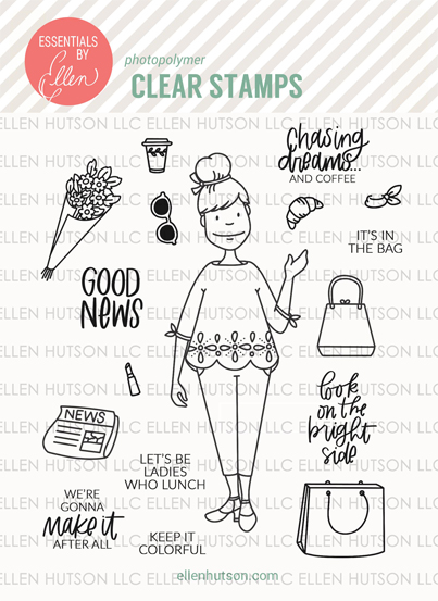 City Lady Stamps