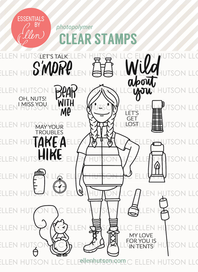Woodsy Lady Stamps